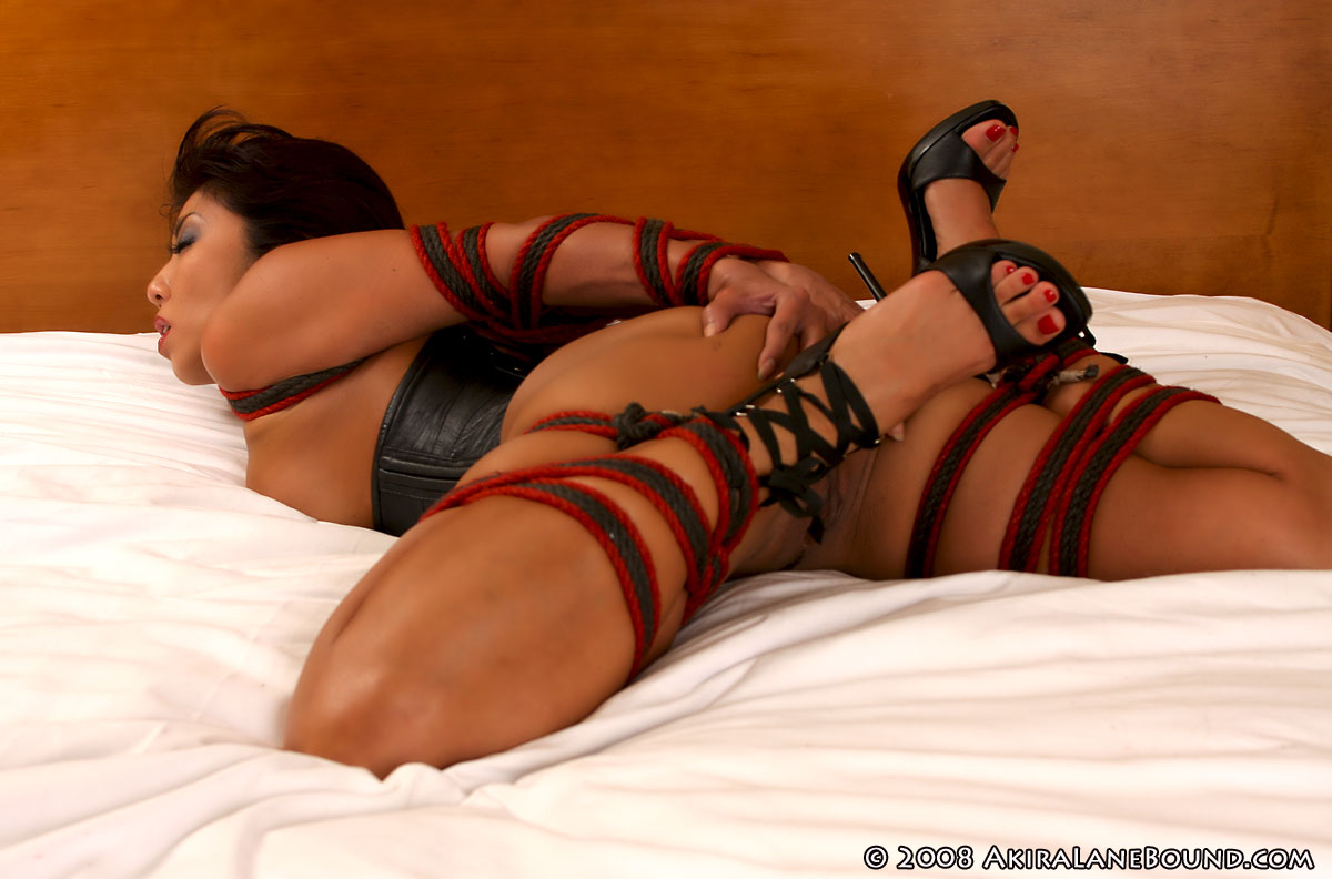 Commit akira lane bound gagged confirm. And